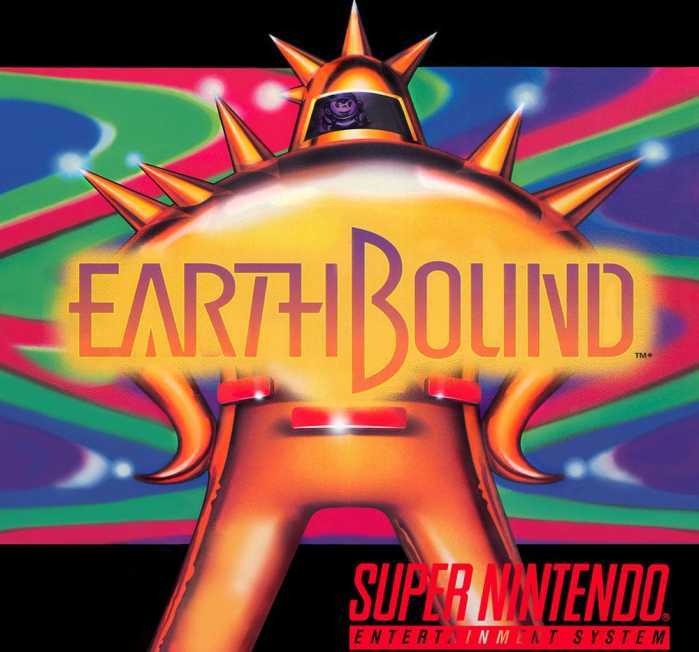 EarthBound on the Super Nintendo