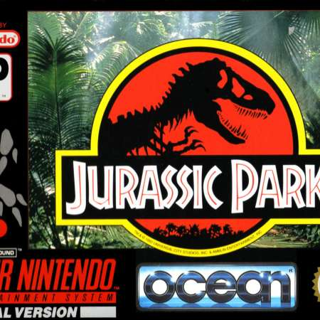 Jurassic Park on the SNES