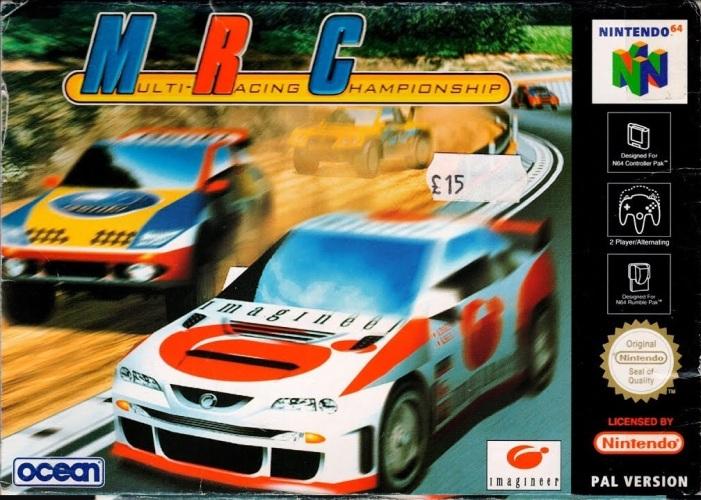 MRC: Multi-Racing Championship on the Nintendo 64