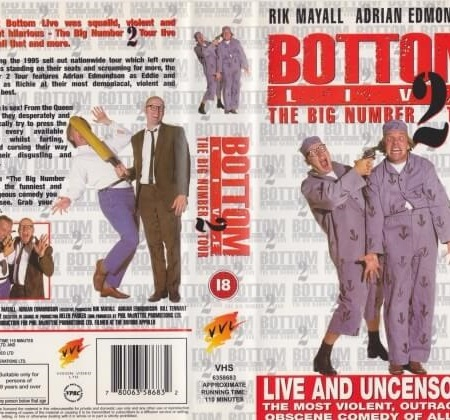 Bottom Live 2: The Big Number 2 Tour