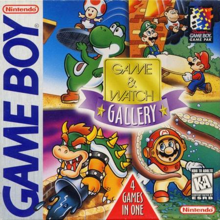 Game and Watch Gallery for the Game Boy
