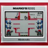 Mario's Cement Factory: Game & Watch Classic is Concrete