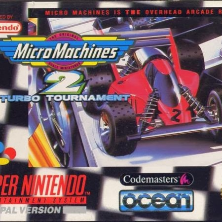 Micro Machines 2: Turbo Tournament on the Super Nintendo