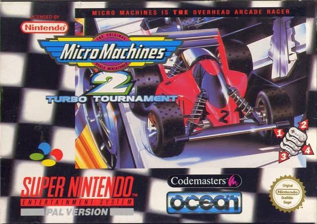Micro Machines 2: Turbo Tournament on the Super Nintendo