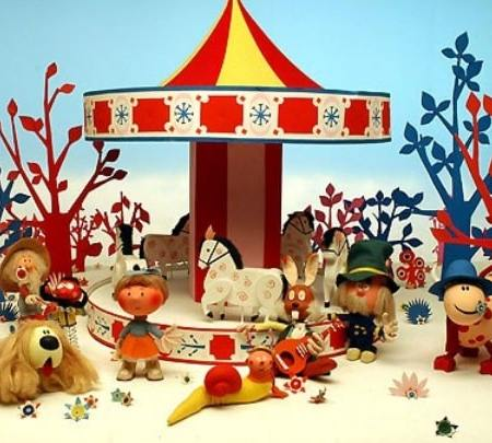 The Magic Roundabout and its cast of characters
