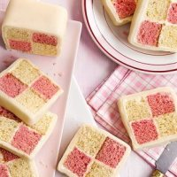 Battenberg Cake: Pretty in Pink British Patriotic Glory
