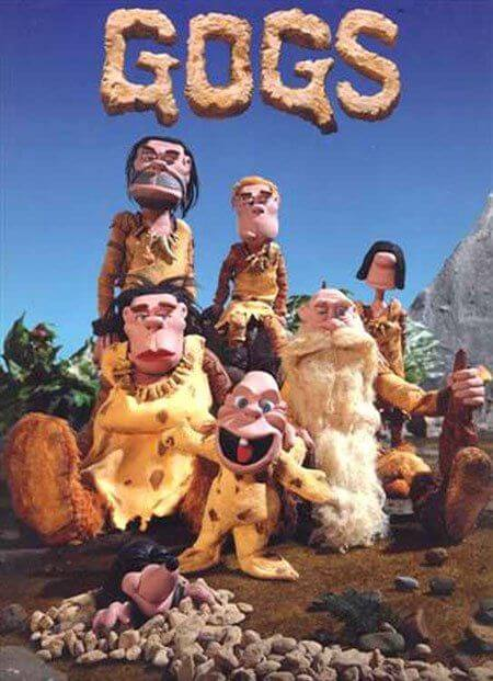 Gogs the claymation caveman sitcom