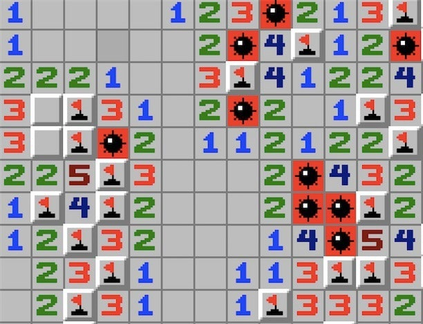 Minesweeper the video game
