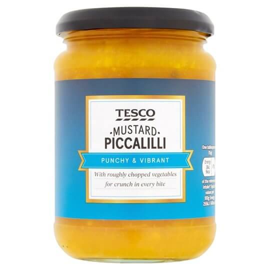 Tesco's Piccalilli in a jar