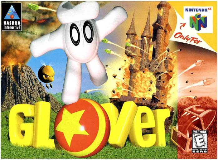 Glover on the N64