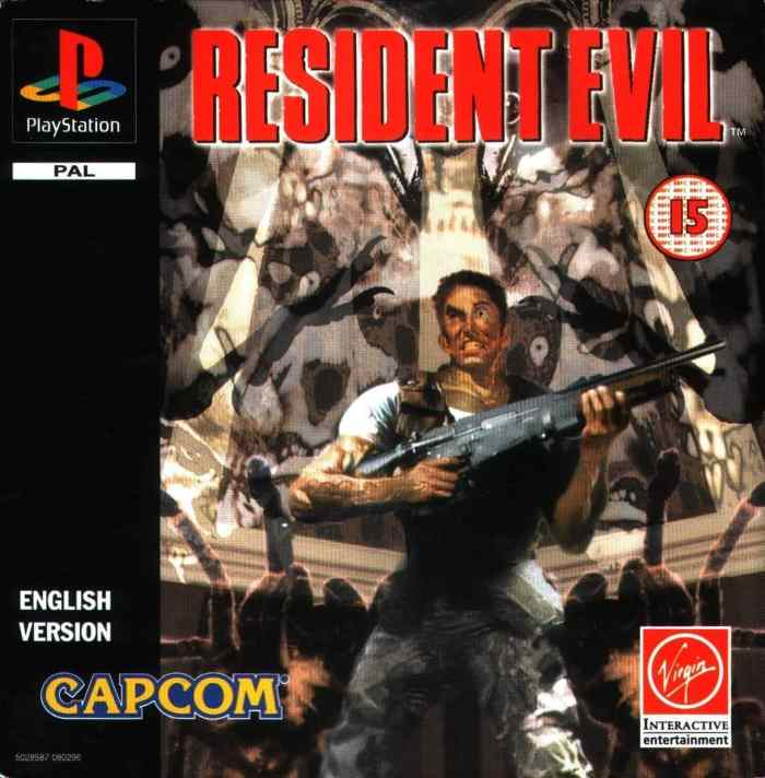 Resident Evil on the PlayStation in 1996
