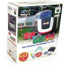 Densha de Go! 64 game and box for the Nintendo 64