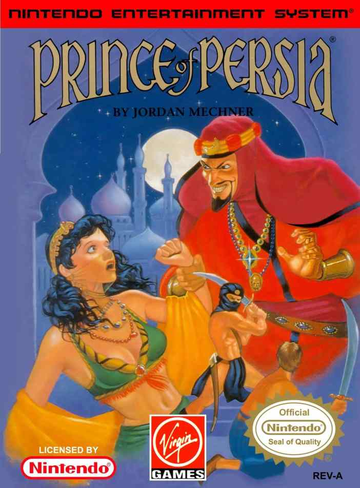 Prince of Persia on the NES