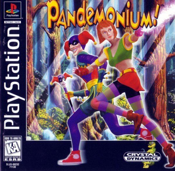 Pandemonium on the PlayStation