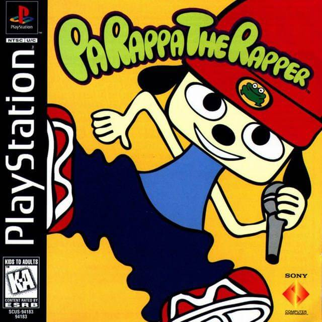 PaRappa the Rapper on the PlayStation