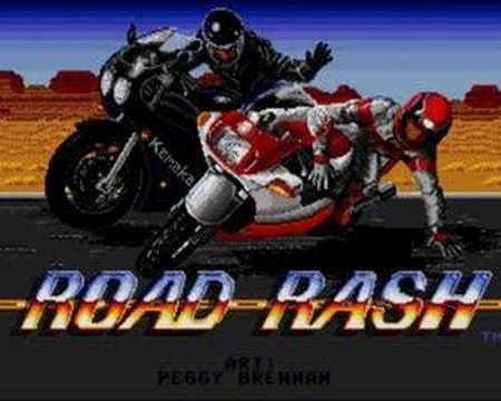 Road Rash on the Mega Drive