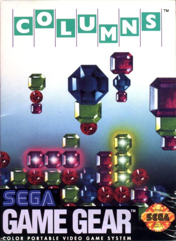 Sega's Columns on the Game Gear
