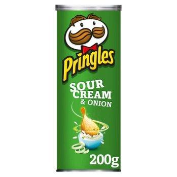 Sour Cream & Onion flavoured Pringles