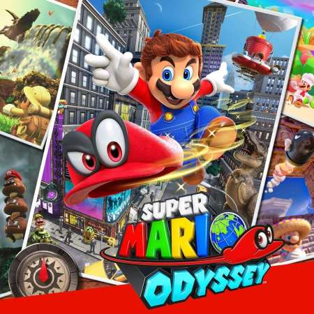 Super Mario Odyssey on the Nintendo Switch