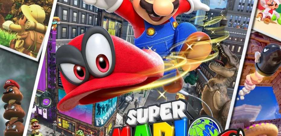 Super Mario Odyssey on the Nintendo Switch