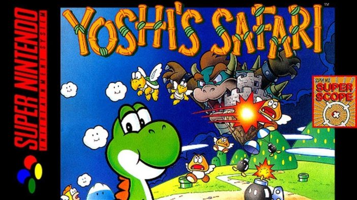 Yoshi's Safari on the SNES