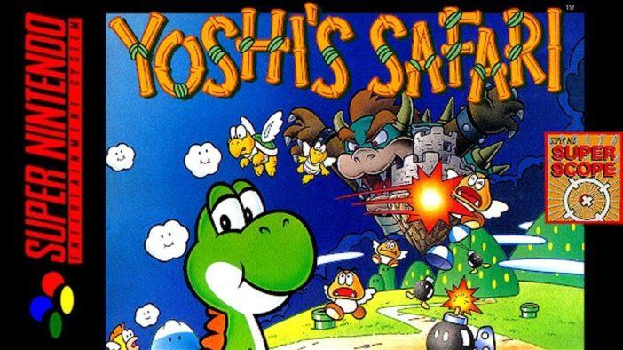 Yoshi's Safari on the SNES
