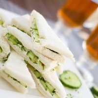 Cucumber Sandwiches: England's Most Upper Class Foodstuff, I Say