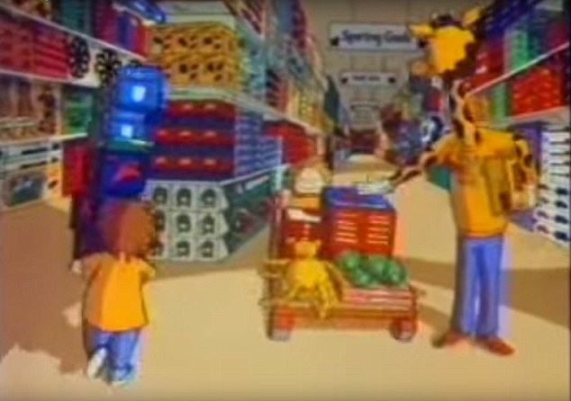 Magical Place Toys R Us advert from 1990