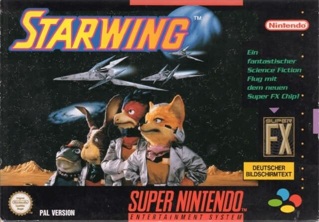 Starwing on the Super Nintendo