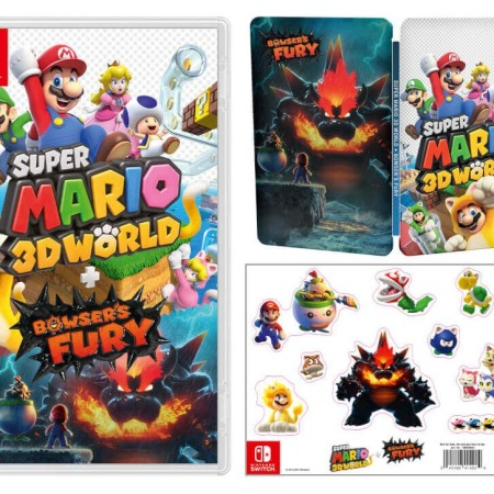 Super Mario 3D World on the Nintendo Switch