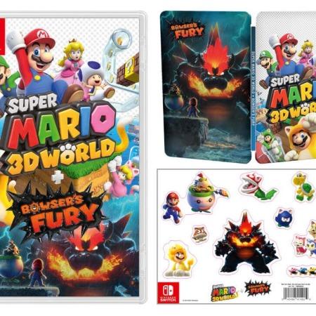 Super Mario 3D World on the Nintendo Switch