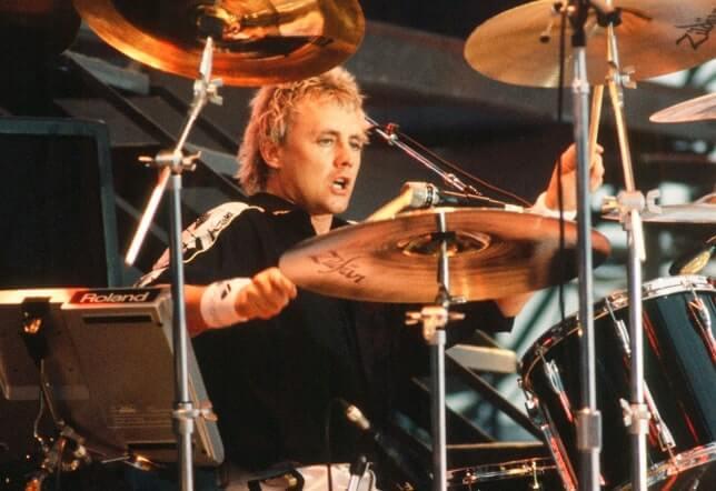 Queen's Roger Taylor Drumming