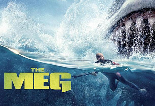 The Meg with Jason Statham