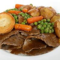 Sunday Roast Dinner: It Doesn't Get More British Than This!