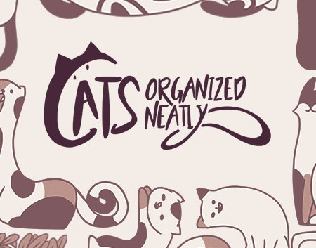 Cats Organized Neatly