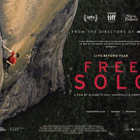 Free Solo the film about Alex Honnold