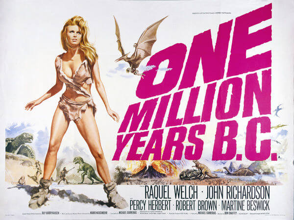 One Million Years B.C. film poster