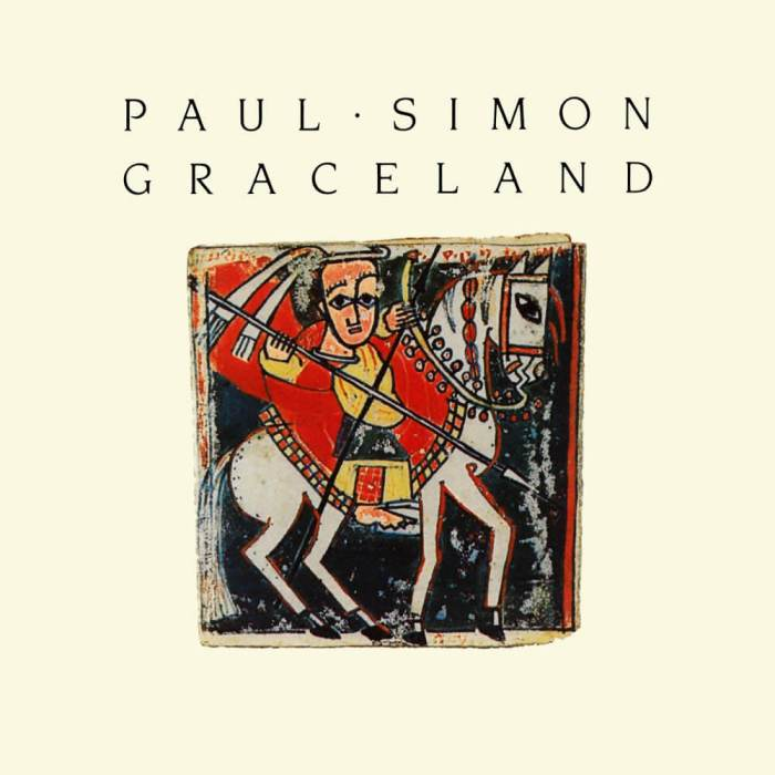 Paul Simon's album Graceland