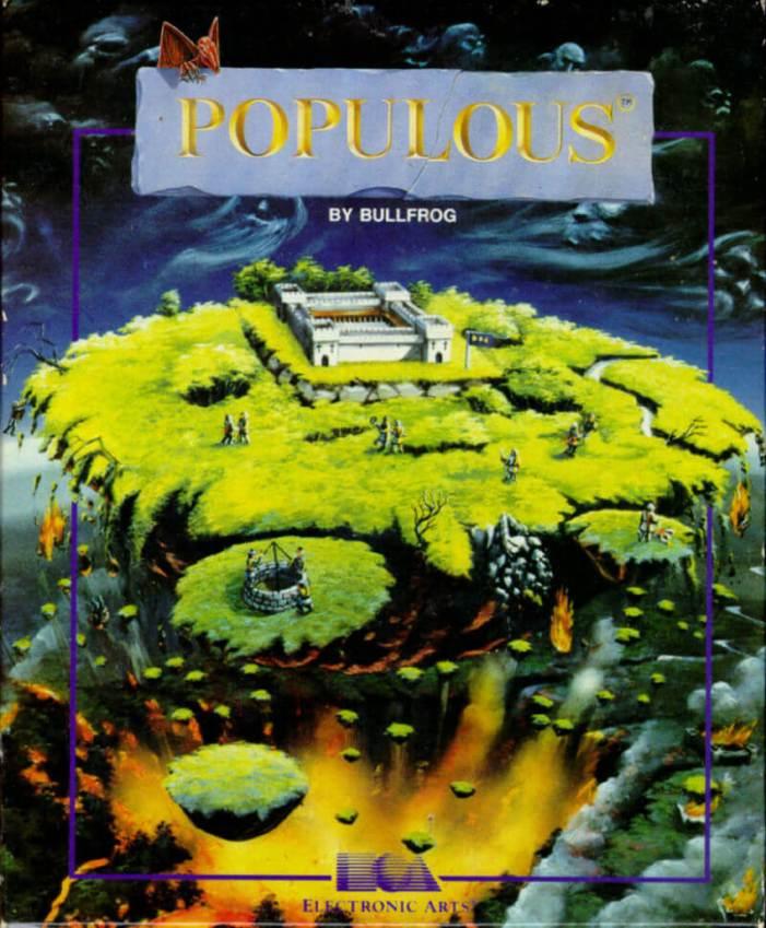 Populous on the Amiga