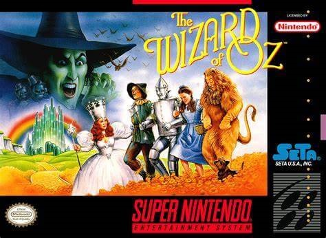 The Wizard of Oz on the Super Nintendo