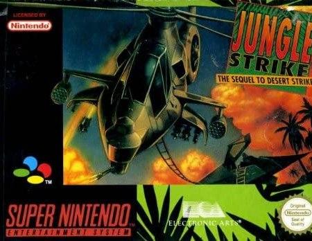 Jungle Strike on the Super Nintendo