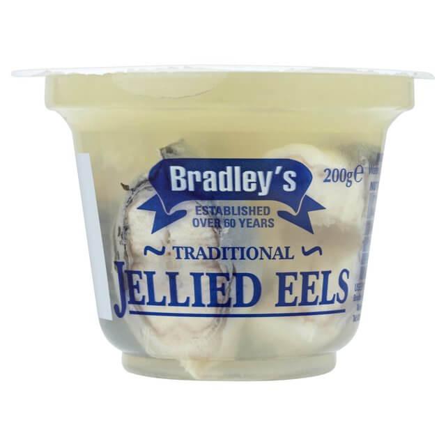 A pot of jellied eels