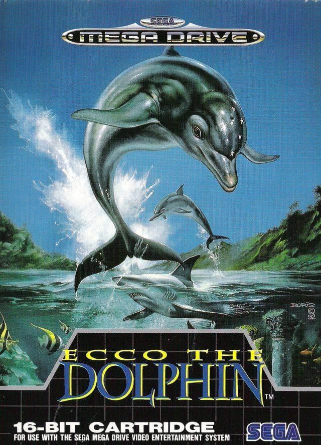 Ecco the Dolphin on the Mega Drive