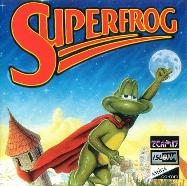 Superfrog the Amiga game