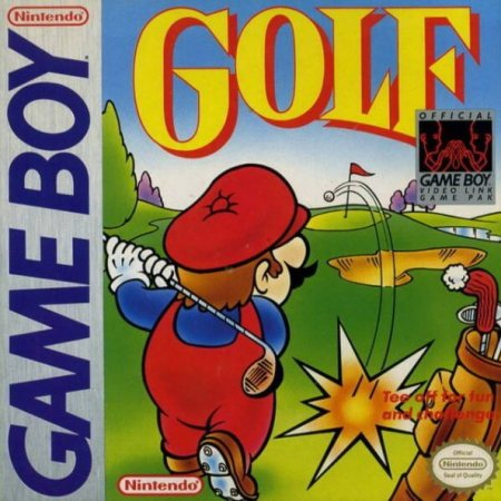 Golf on the Game Boy