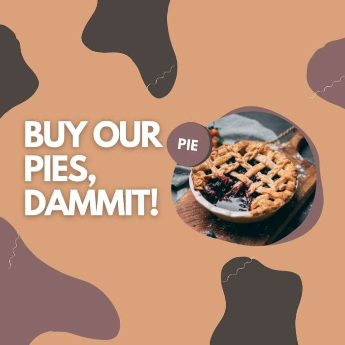 Buy our pies