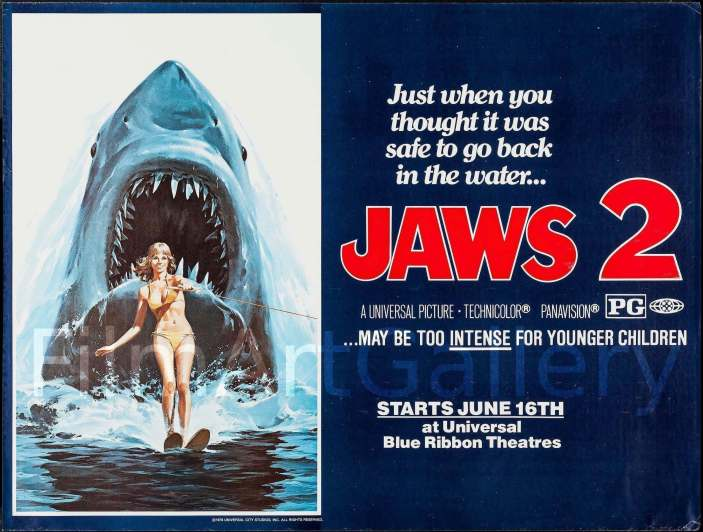 Jaws 2 - Just when you thought it was safe to go back in the water...