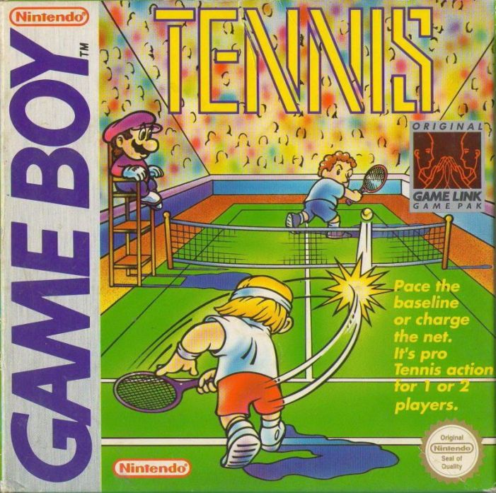Tennis on the Game Boy