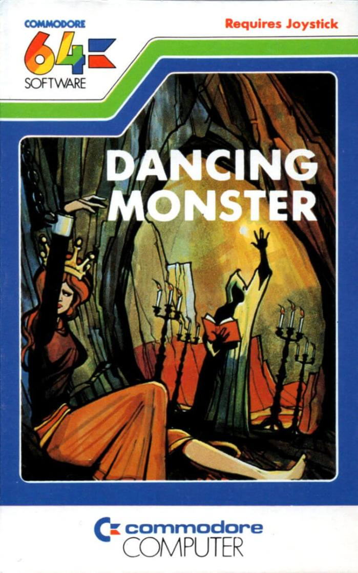 Dancing Monster on the Commodore 64