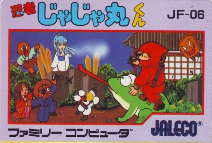 Ninja JaJaMaru-kun for the NES